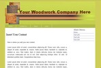 Thumbnail Woodwork Web Template 1