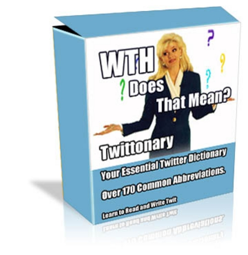 Product picture Twittonary - Dictionary for Twitter Terms